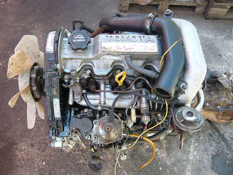 Toyota 2c Turbo  U2013 Ldr Engines And Gearboxes